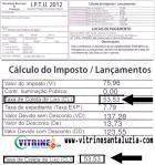Prefeitura de Santa Luzia Cobra Taxas no IPTU que são Ilegais